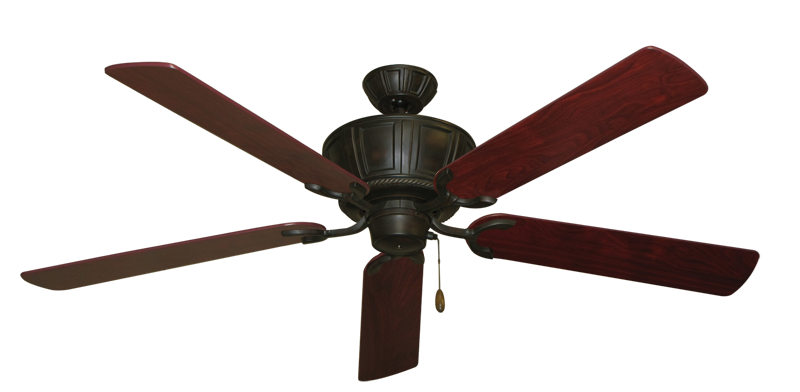 """Picture of Centurion Oil Rubbed Bronze with 60"""" Cherrywood Blades"""