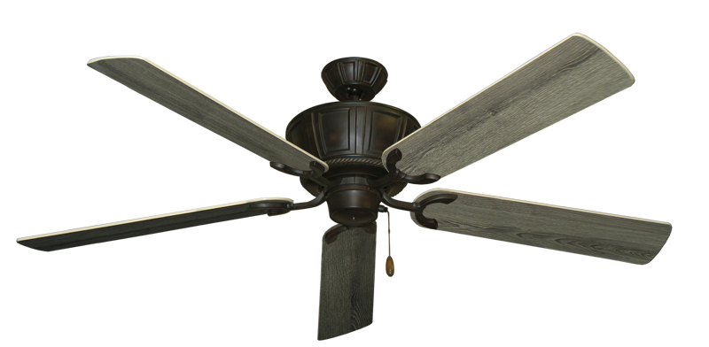 """Picture of Centurion Oil Rubbed Bronze with 60"""" Barnwood Blades"""