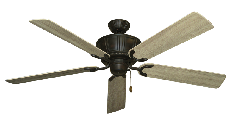 Centurion Oil Rubbed Bronze with 60 Beachwood Blades