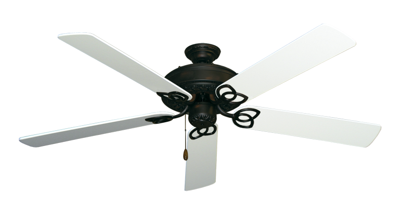 "Picture of Renaissance Oil Rubbed Bronze with 60"" Pure White Blades"