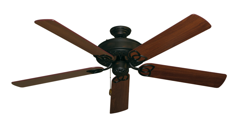 "Picture of Renaissance Oil Rubbed Bronze with 60"" Walnut Blades"