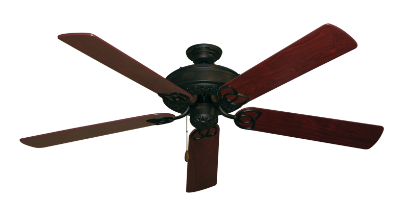 """Picture of Renaissance Oil Rubbed Bronze with 60"""" Cherrywood Blades"""