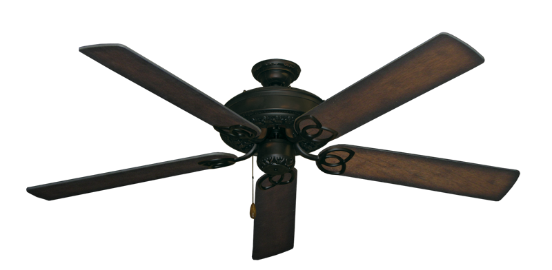 "Picture of Renaissance Oil Rubbed Bronze with 60"" Distressed Hickory Blades"