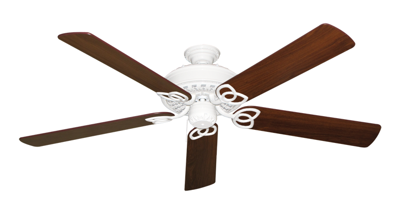 """Picture of Renaissance Pure White with 60"""" Walnut Blades"""