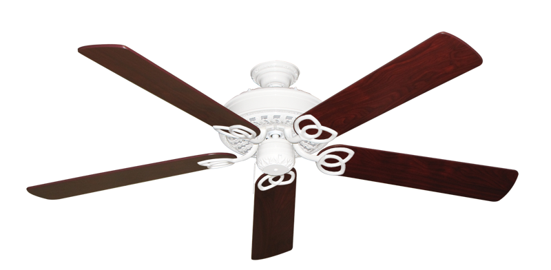 """Picture of Renaissance Pure White with 60"""" Cherrywood Blades"""