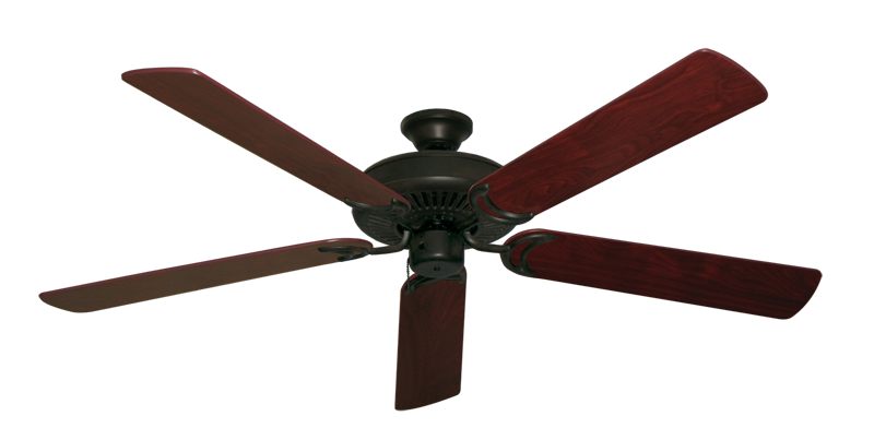 """Picture of Riviera Oil Rubbed Bronze with 60"""" Cherrywood Blades"""