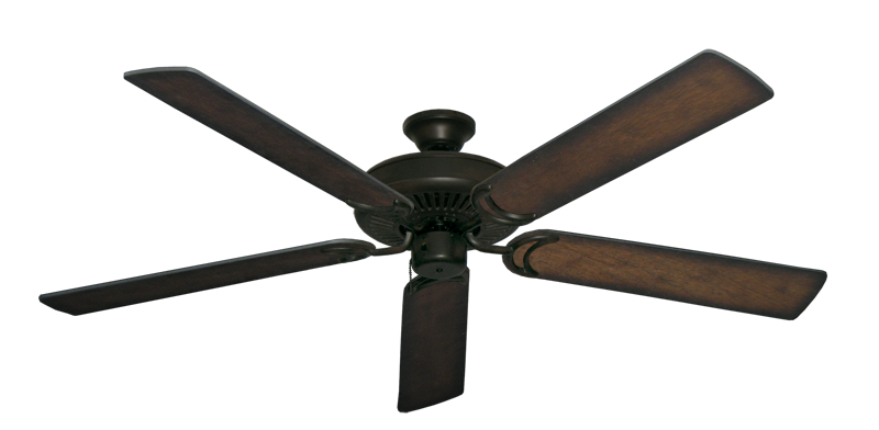 """Picture of Riviera Oil Rubbed Bronze with 60"""" Distressed Hickory Blades"""