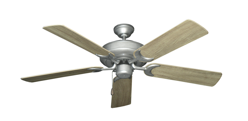"Picture of Raindance Brushed Nickel BN-1 with 52"" Beachwood Blades"