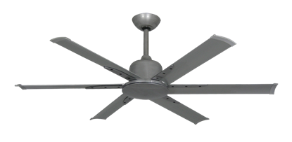 """Titan II Brushed Nickel with 52"""" Aluminum Brushed Nickel Blades with Remote"""