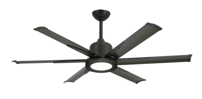 "Titan II Oil Rubbed Bronze with 52"" Aluminum Oil Rubbed Bronze Blades with 18W LED Array Light and Remote"