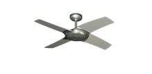 Picture of Starfire 42 in. Brushed Nickel BN-1 Ceiling Fan with LED Light and Remote