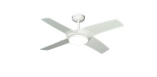 Picture of Starfire 42 in. Pure White Ceiling Fan with LED Light