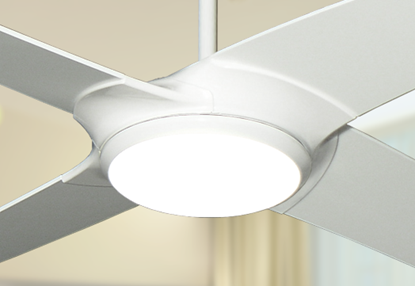 Picture of Starfire 56 in. Pure White Ceiling Fan with LED Light