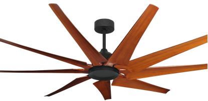 Picture of Liberator 72 in. WiFi Enabled Indoor/Outdoor Oil Rubbed Bronze Ceiling Fan With Natural Cherry Blades