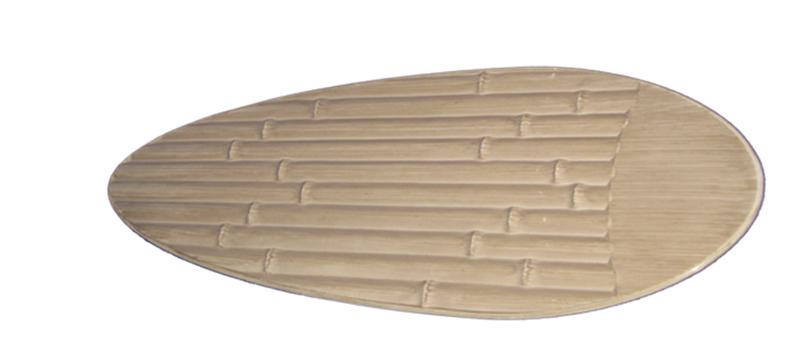 "Picture of 52"" Outdoor Bamboo Distressed White Blades (P-Series Fan Only)"