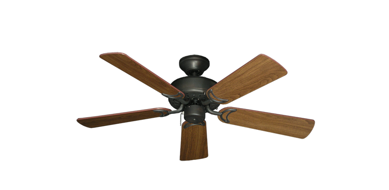 "Picture of 42"" Dixie Belle Oil Rubbed Bronze with 42"" Walnut Blades"