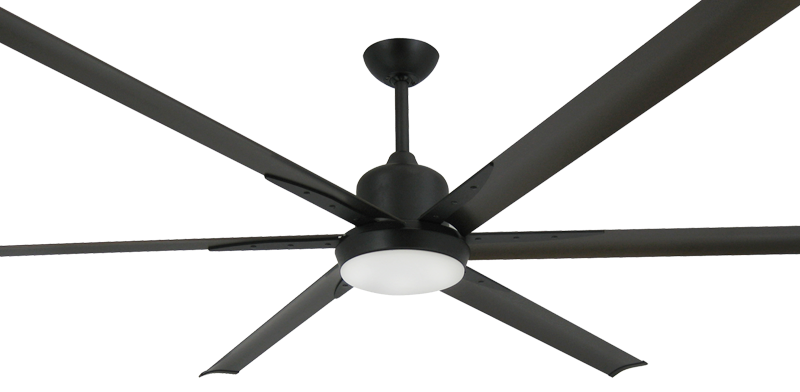 Titan Ceiling Fan In Oil Rubbed Bronze With 84 Quot Aluminum