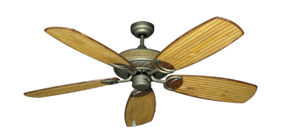 42 Quot Bombay Ceiling Fan In Antique Bronze With 42 Quot Bombay