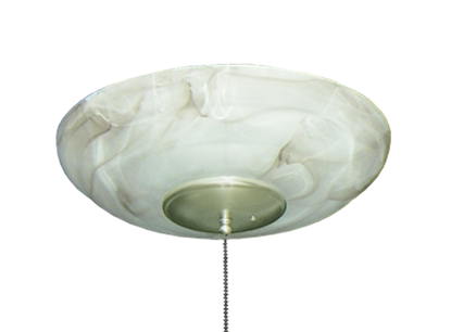 Picture of 171 Large Bowl Light in Mocha Glass