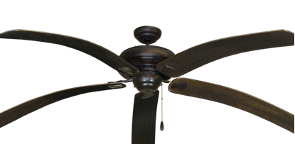 42 Quot Dixie Belle Ceiling Fan In Oil Rubbed Bronze With 42