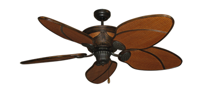 52 Moroccan Ceiling Fan In Oil Rubbed Bronze