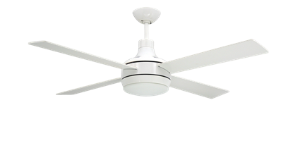"Picture of Quantum 52"" Pure White Ceiling Fan"