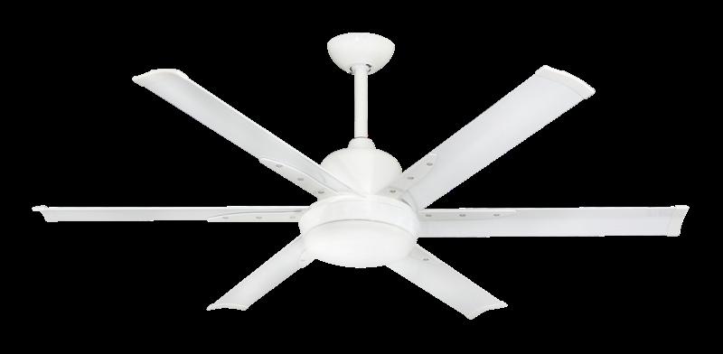 Dc 6 52 In Indoor Outdoor Brushed Nickel Ceiling Fan And