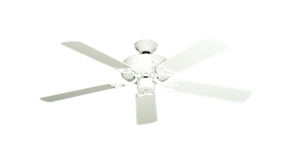 "Picture of 52"" Porch Fan in Pure White"