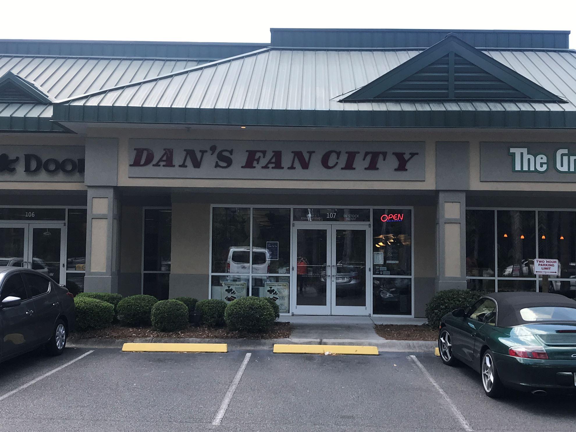 Dan S Fan City Bluffton Sc Dan S Fan City 169 Ceiling