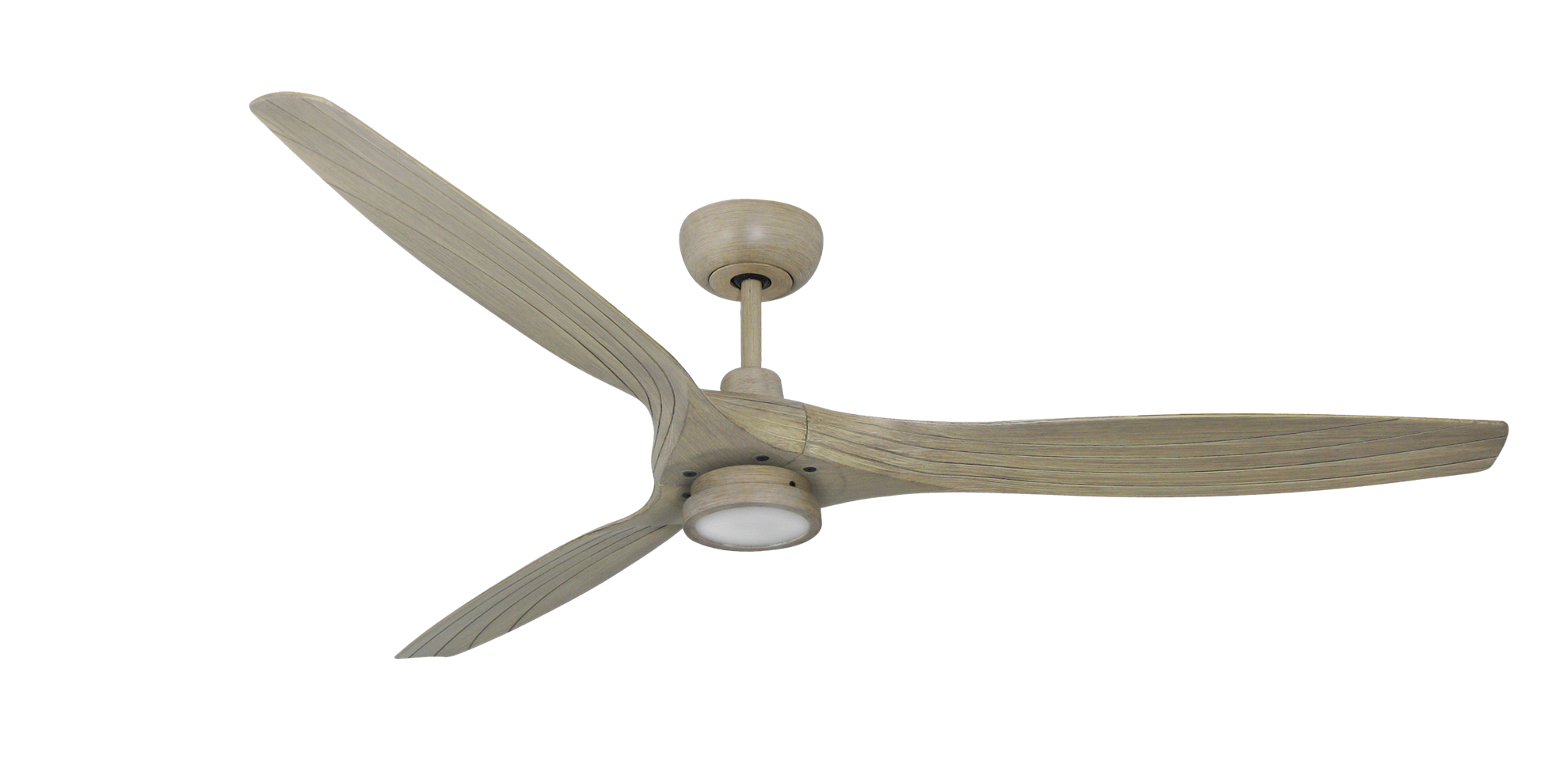 Indoor Outdoor Driftwood Ceiling Fan With 15w Led Light