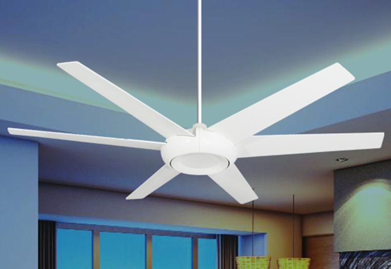 Elegant 60 In Indoor Outdoor Pure White Ceiling Fan Dan